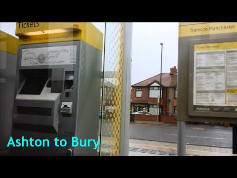 Manchester Metrolink - Ashton-under-Lyne to Bury