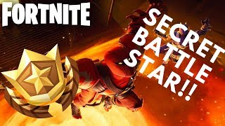 SAISON 8 SEMAINE 2 SECRET BATTLE STAR EMPLACEMENT! (Fortnite Battle Royale)