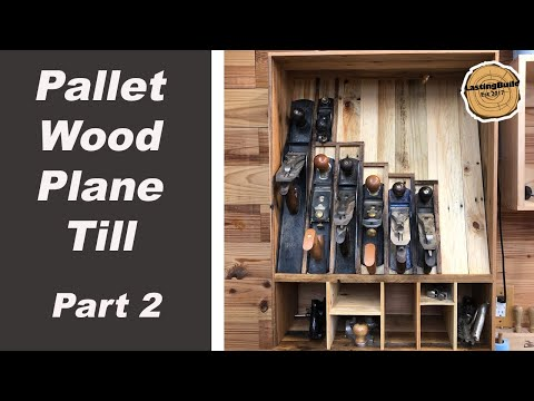 Pallet Wood Repair With TotalBoat Epoxy Resin | French Cleat Plane Till Part 2