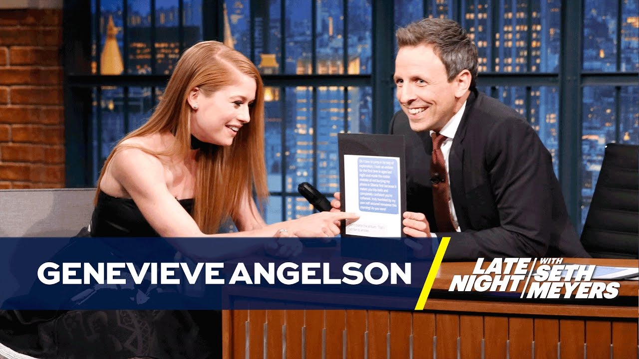 Download Genevieve Angelson Embarrassed Herself Texting on Sleeping Pills