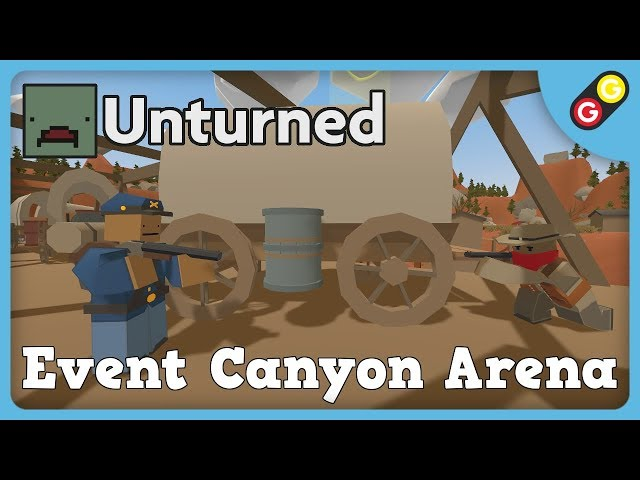 Unturned - Event Canyon Arena [FR]