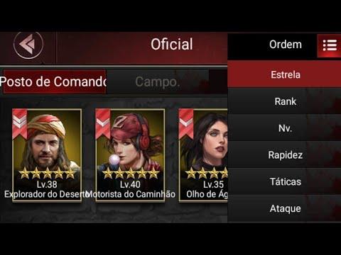 Last Empire War Z - Trajes De Cada Comandante