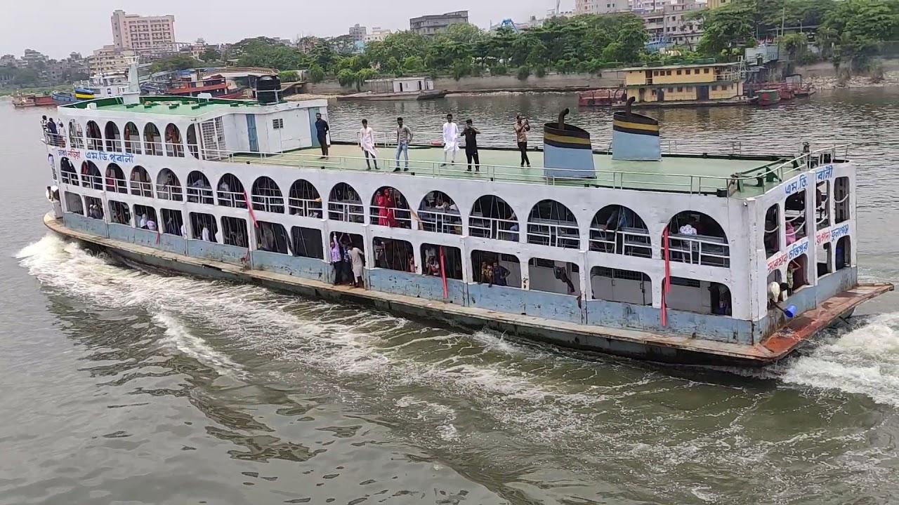 ঈগল ৩ ওভারটেক পুবালি | Eagle 3 vs Pubali | Dhaka Chandpur launch