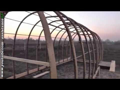 видео: Строим теплицу своими руками