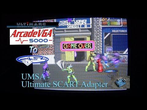 ArcadeVGA5000 to Ultimate Scart Adapter to 28