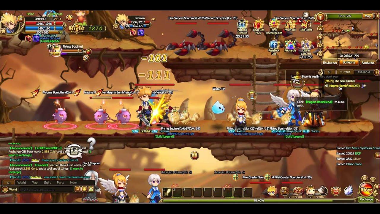Lunaria Story Gameplay - 2D Side-scrolling Platformer RPG ...