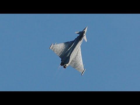 RAF Typhoon Rhyl