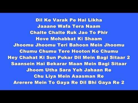 Dil mein baji guiter video karaoke by Nilesh