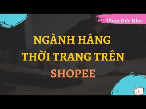 Ngành hàng thời trang bán trên Shopee
