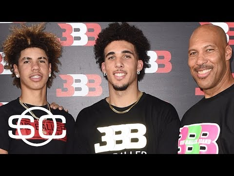 LaVar Ball says LiAngelo Ball and LaMelo Ball sign with agent | SportsCenter | ESPN