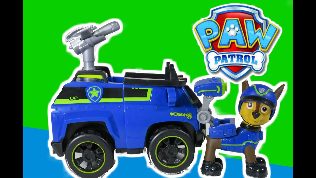 Wonderful PAW PATROL *New* Spy Chase With Spy Police Cruiser At Paw Patrol Look Out  With All Paw Patrol Pups   YouTube