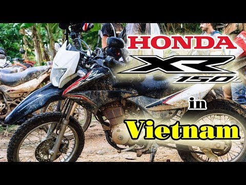 Honda XR 150 in Vietnam
