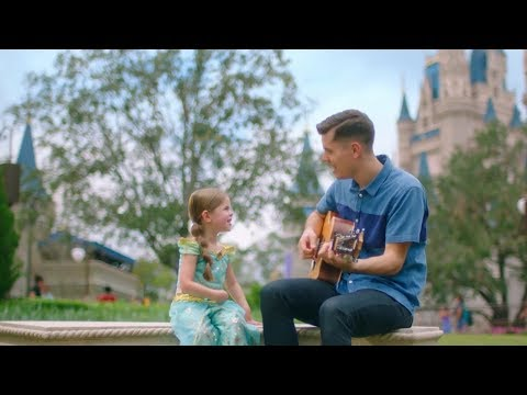 A Whole New World, Disney's Aladdin - 4-Year-Old Claire Crosby and Dad