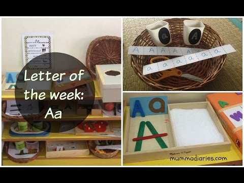 How To Teach Alphabets To Children? (Letter Of The Week Collab) - Aa