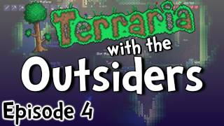 "Terraria 1.1 w/ The Outsiders - Ep.4 "" Jellyfish is Chilling """
