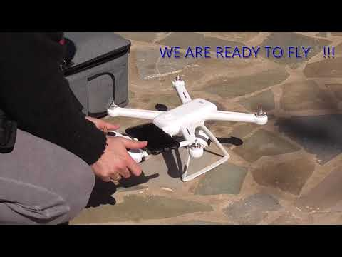 Xiaomi Mi drone 4k (Gimbal and Compass Calibration) and 2km fly