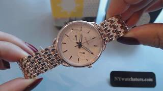 Women's Rose Gold Fossil Tailor Multi Function Steel Watch ES3713