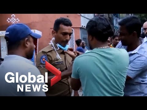 Sri Lanka attacks: Suspect arrested after second explosion outside Colombo church