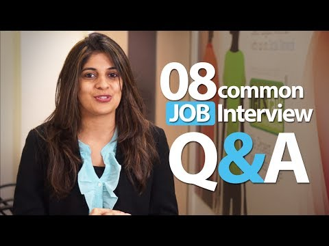 08 common Interview question and answers - Job Interview Ski
