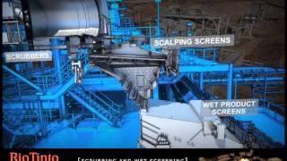 3D Flythrough, Marandoo mining infrastructure