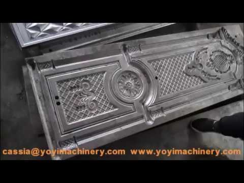 Kazakhstan steel door molds, steel door embossing press mold