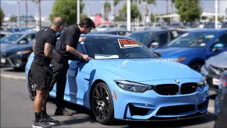 Parking my Bmw M4 at a dealership, then trying to Buy it.