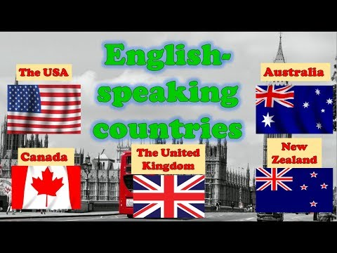 Англоговорящие страны, государственные символы на английском языке