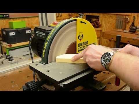 Record Power DS300 Tellerschleifer: Gehrungen