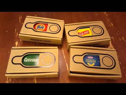 Dash Buttons From Amazon