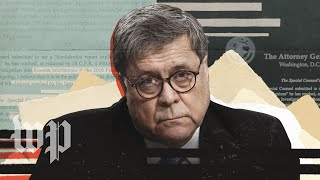 Key moments from Barr's press conference on the redacted Mueller report
