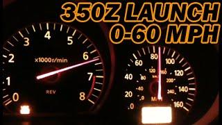 Nissan 350Z / Launch 0-60 MPH 0-100 MPH / Nismo Exhaust