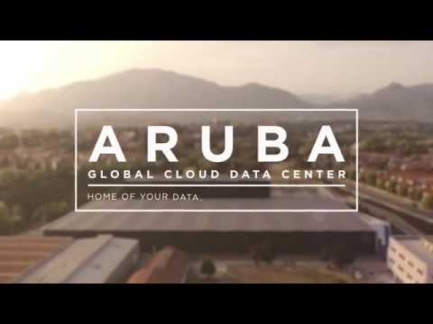 Aruba Spot TV 30'' Global Cloud Data Center - Home of your data, Heart of your business