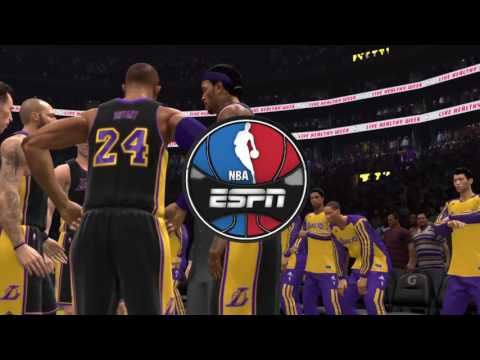 NBA LIVE 17: Lakers v Spurs Epic Comeback!! Kobe42pts