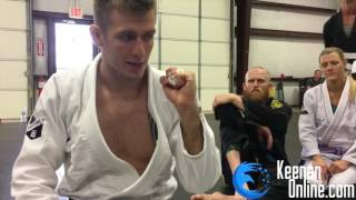 How to Tape Your Fingers for BJJ | KEENANONLINE.COM