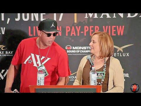 Heated! Kathy Duva vs Virgil Hunter! Both go at it the Ward Kovalev Presser