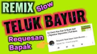 Dj teluk bayur reuploader #nocopyproduction slow on the mix
