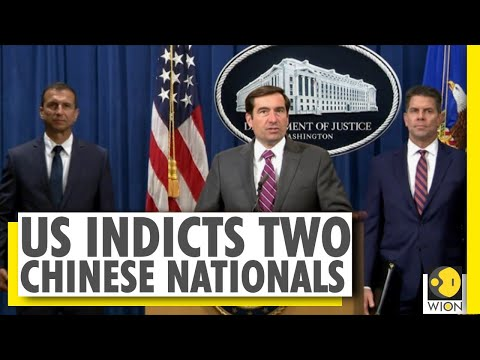 US indicts two Chinese nationals for Espionage | US-China | WION News | World News
