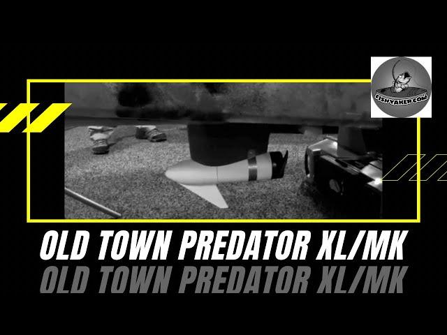 Old Town Predator XL Minn Kota Motorized Kayak: Episode 156
