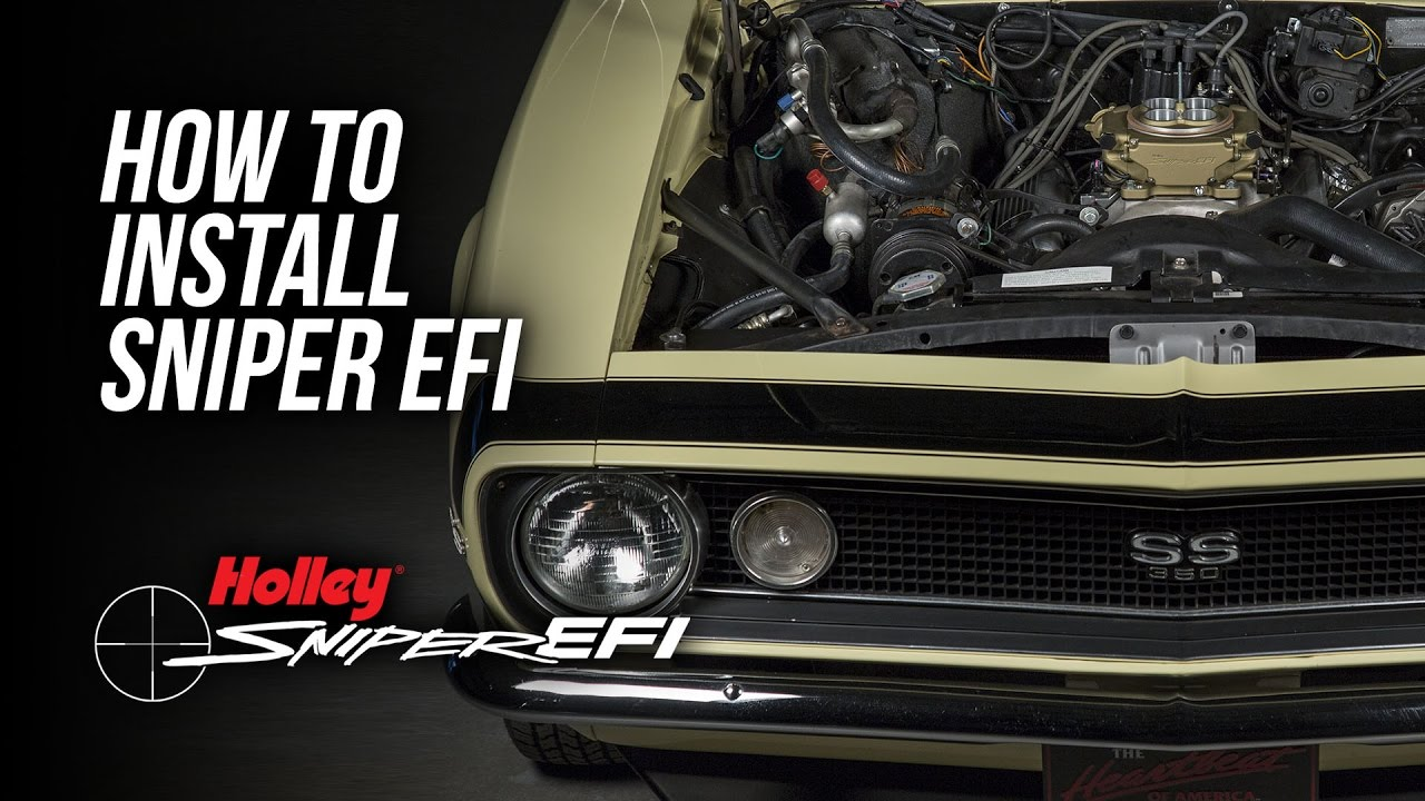How To Install Holley Sniper EFI Holley Sniper Efi Wiring Diagram Gmc on