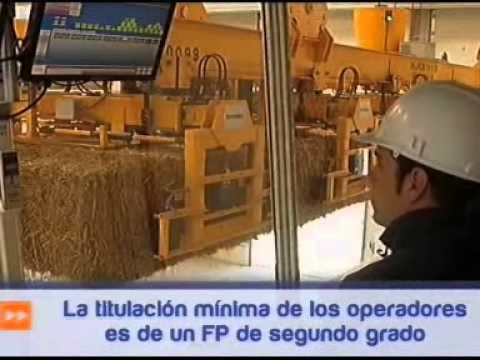 La planta de biomasa de Miajadas, en Canal Extremadura TV