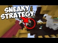 SNEAKY EGG WARS STRATEGY | Minecraft Cubecraft Teams Egg Wars w/Shaan!