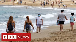 Many holiday destinations get green light after days of confusion - BBC News