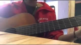 Tập Guitar _ Mừng sinh nhật của em