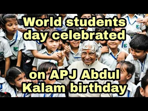 Shorts Apj Abdul Kalam Birthday Whatsapp Status World Student S Day Kalam Inspiration India Youtube