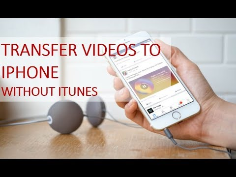 how to put laptop videos to iphone
