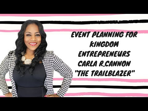Event Planning Tips For Kingdom Planners &Visionaries