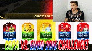 COPA AMERICA vs. EURO 2016 FUT DRAFT CHALLENGE!! FIFA 16: ULTIMATE TEAM (DEUTSCH)