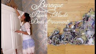 Starting the Baroque papier Mâché Ornaments - Episode  2