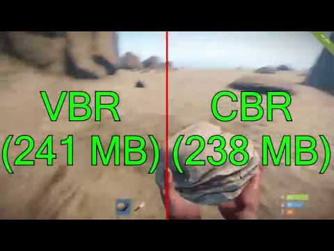 VBR vs. CBR Quality Test - Which One Is Better? Rust