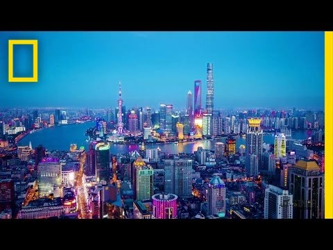 A Mind-Bending Walk Through Shanghai
